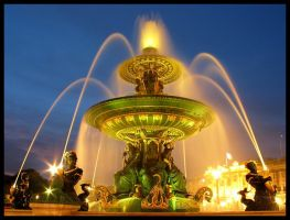 Place de la Concorde by Night by waflar