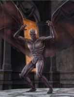 Strigoi the ancien vampire by HAL001