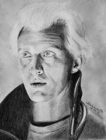 Rutger Hauer as Roy Batty (Blade Runner) by MarianaPo