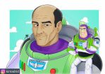 Buzz Lightyear with Arabic voice actor  by KIMADRID