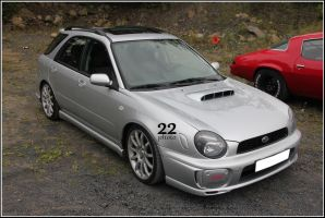 Impreza wagon by 22photo