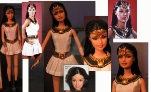 Isis Doll Repaint OOAK by ShannonCraven