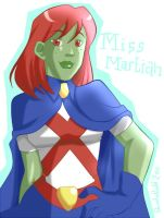 YJ - Miss Martian by Pandablubb