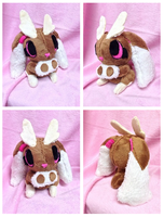 Lopunny Palm Plush by Glacdeas