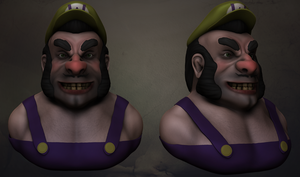 Wario Sculpt! by DekuBackPack