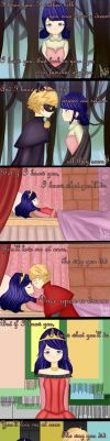 .:Once upon a dream:.Marichat..Adrinette by Mitz-Abi