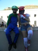 me and luigi by BETGOLD