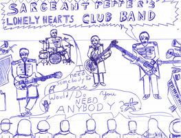 Sgt. Pepper's Lonely Hearts Club Band by nop123