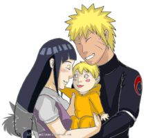 Naruhina Family  2 by Bleach-Fairy