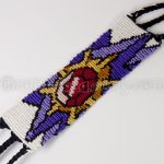 Starmie 1.5 inch Friendship Bracelet - New Version by CarrieBea