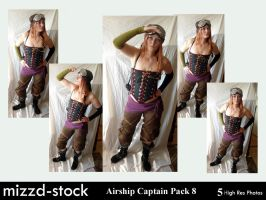 Pirates-Airship Captain Pack8 by mizzd-stock