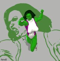 She-Hulk Test Pose 08 by hotrod5