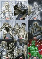 Marvel Universe Sktch Cards 10 by RichardCox