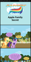 Rainbow Tales: Apple Family Secret by Narflarg