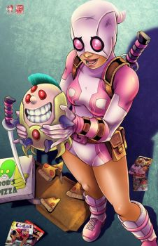The Incredible Gwenpool by TyrineCarver