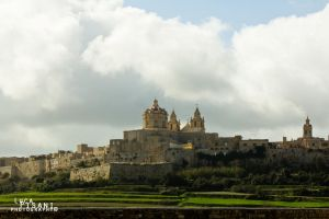 Mdina Beneath The Clouds by Maltese-Naturalist