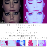 Effy (SKINS UK) Photoshop Action (NOW FREE) by thinminmeg