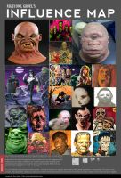 NightowlGhoul's influence map by Justin-Mabry