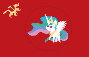 Mother Equestria Flag by TourniquetMuffin
