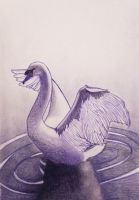 The Swan - Make It Blue by MalinPihl