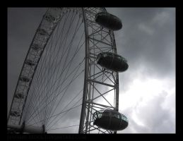 London Eye by Jenuary-Stock