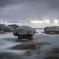 seascape - winter rocks by letsgofishing3