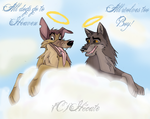 Charlie and ...BALTO?? by hecatehell