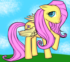 Fluttershy by AngelAndChangeling