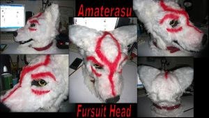 Amaterasu Fursuit Head by Saixpuppy222