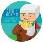Guude and Fireheart Golden Apples Delivery Service by CarrotFreak