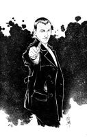 12-2013 9th Doctor by Hodges-Art