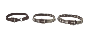 MMD Belts by mbarnesMMD
