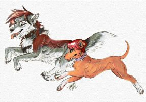 ATTACK OF THE SPACE DOGS by naravox