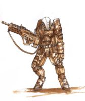Uhtek Trooper by corndoggy