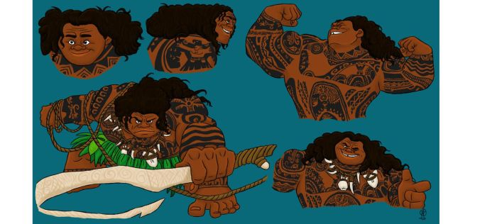 Moana FA: Maui the Demi-God by TheLastUnicorn1985