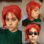 Noriaki Kakyoin's cosplay - Another make up test by JudyHelsing