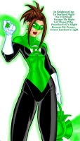 Green Lantern Friend by DangerG