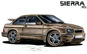 Luis's Ford Sierra RS Cosworth by toyonda