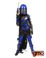 The Littlest Mandalorian by RougeLeaderRed