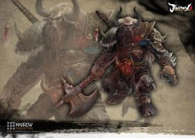 Bull Demon King by Manzanedo