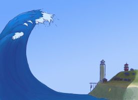 Tidal Wave by Luherc
