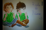 Nino and Riida by LauZaky