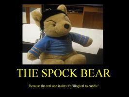 Spock Bear by Blackwidina