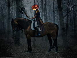 Headless Horseman by sh0ck-n-dIe