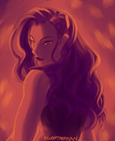 Tumblr Color Meme: Asami in 12 by elven-thespian