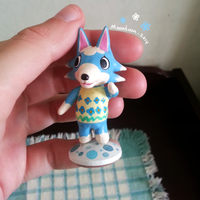 ACNL - Skye sculpture by Moontoon