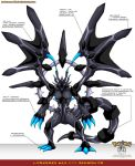 L'Pokedex 644 - Zekrom FR by Pokemon-FR