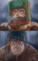 South Park - rain by Joxem