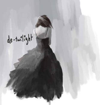 The girl in the dress by de-twilight