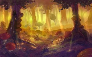 Forest of magic by yukira0